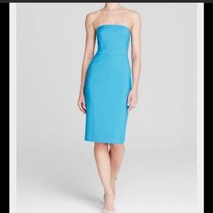 NWT Black Halo strapless dress